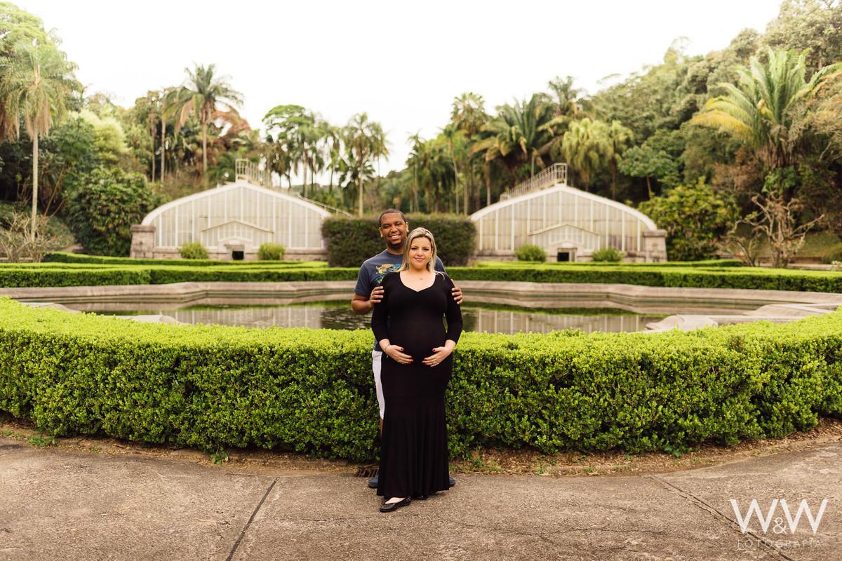 ensaio gestante gestacao casal jardim botanico sao paulo sp