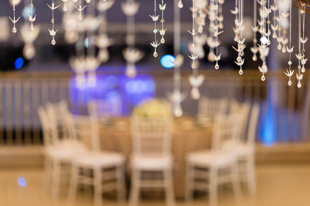 fotografia casamento espaço nobre são paulo decoração tsurus origami wewfotografia