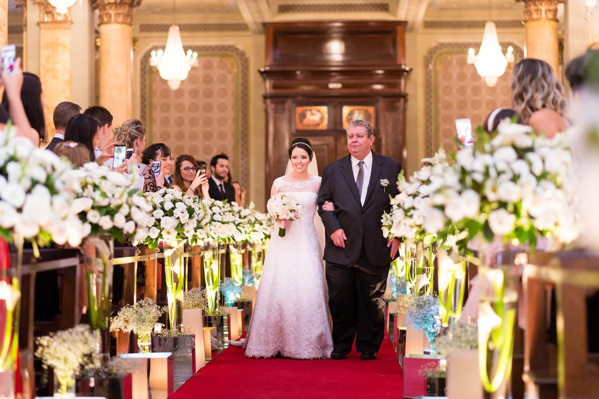 fotografia casamento igreja calvario são paulo pai cerimonia noiva entrada wewfotografia