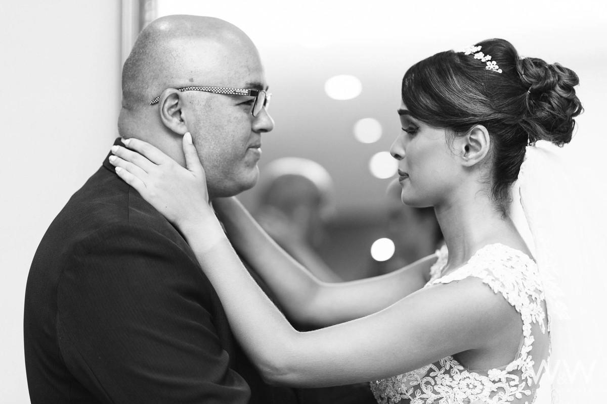 first look com o pai fotografia casamento wew emoção arujá