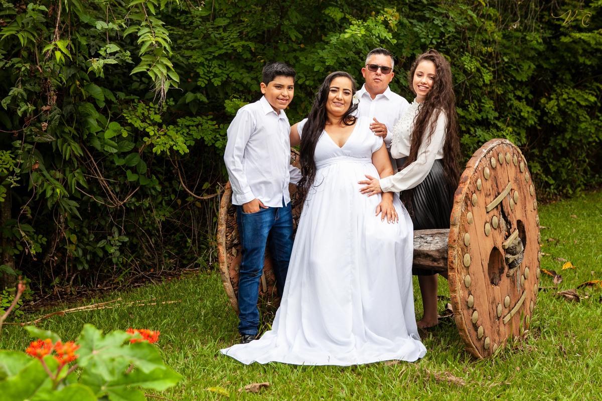 Imagem capa - Ensaio Gravidez - Ariane e Família por Vanessa Candido
