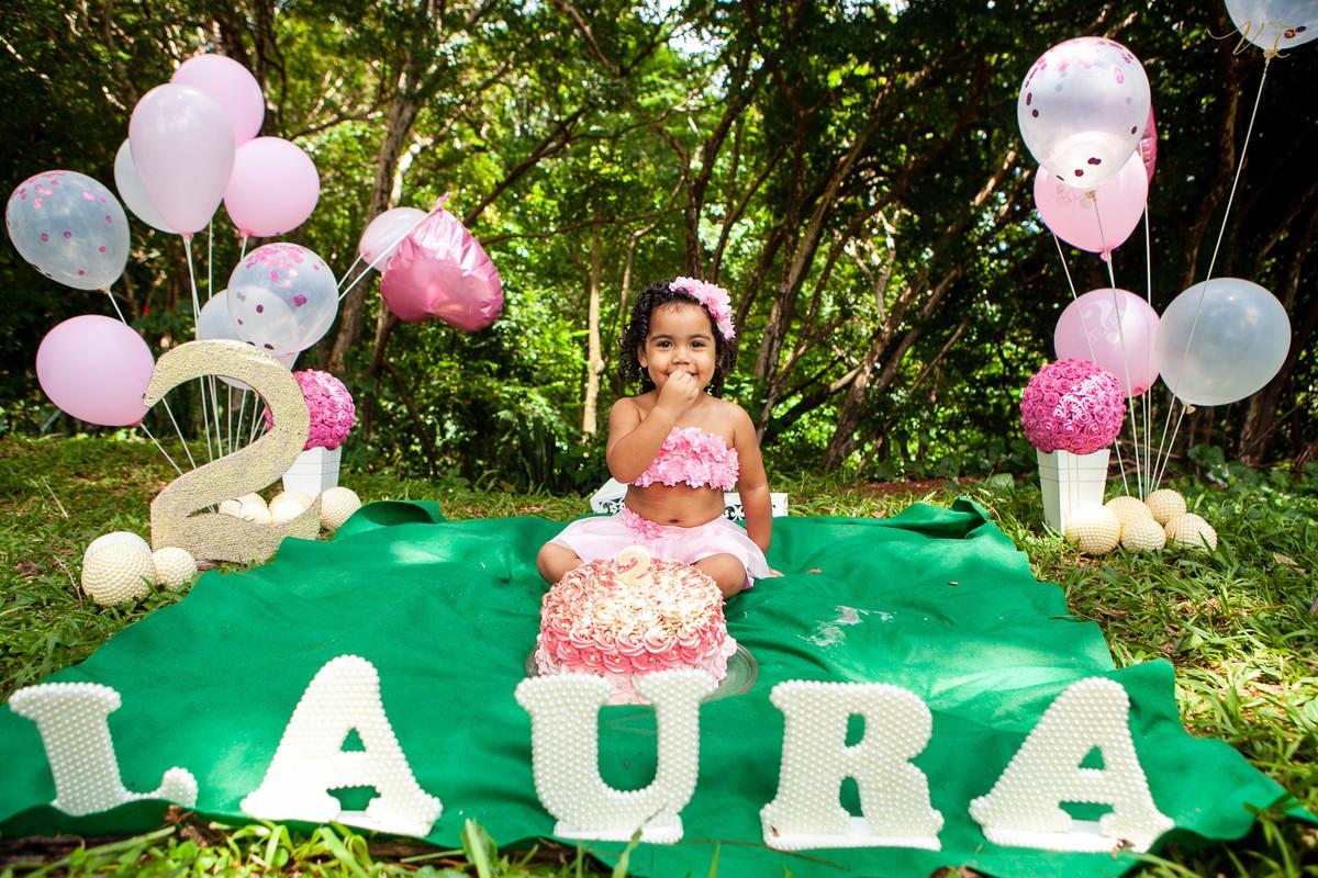 Imagem capa - Smash the cake - Laura por Vanessa Candido