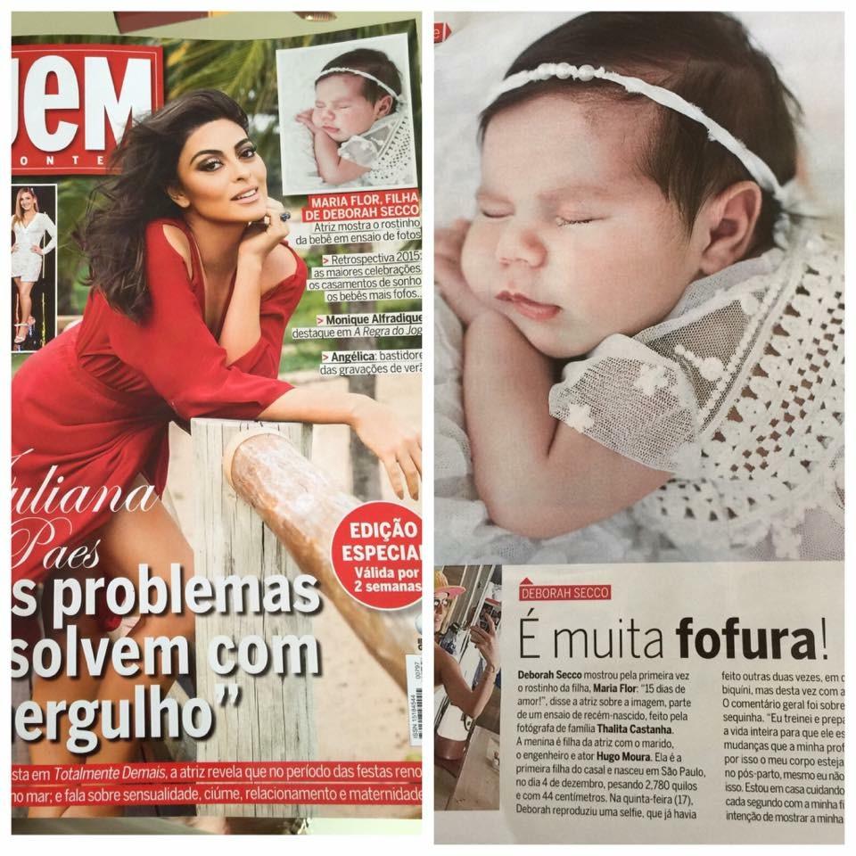 Imagem capa - Maria Flor, filha de Deborah Secco por Thalita Castanha