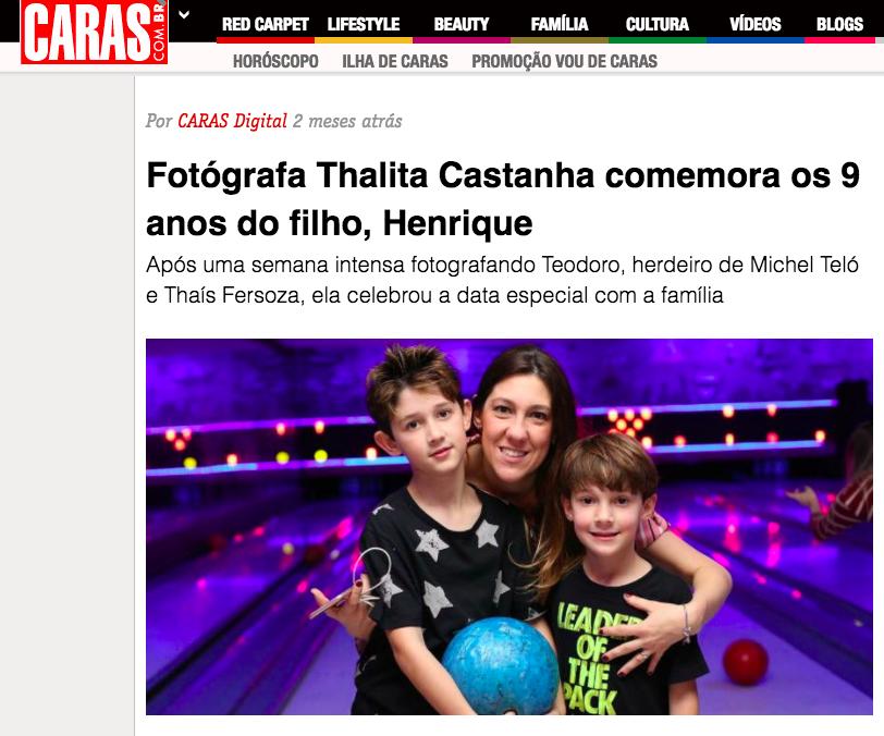 Imagem capa - FOTOGRAFA THALITA CASTANHA COMEMORA OS 9 ANOS DO FILHO, HENRIQUE por Thalita Castanha