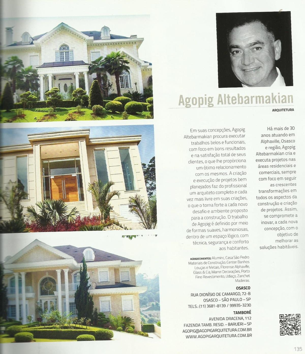 Imagem capa - ANUARIO- VERO- 2012 por AGOPIG ALTEBARMAKIAN