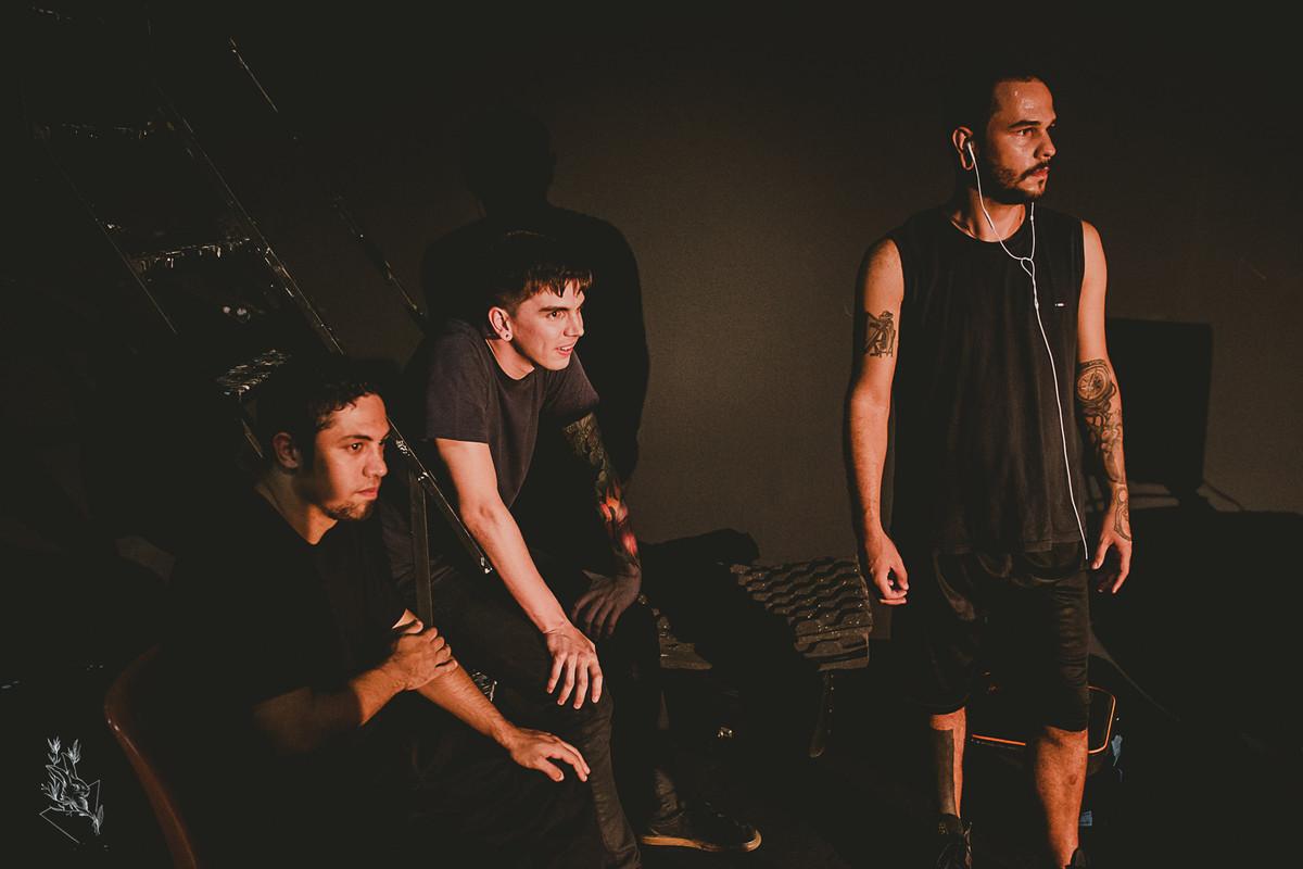 gravando bandas, fotografia,  matheus koelho, banda pense, hard core