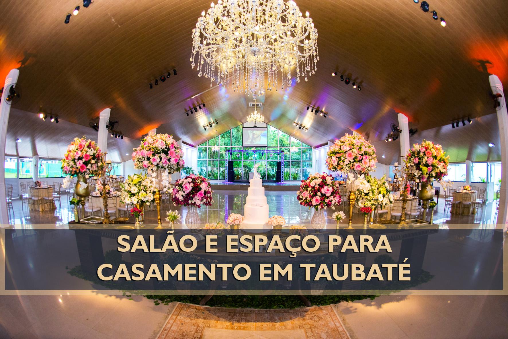 Imagem capa - SALÃO E ESPAÇO PARA CASAR EM TAUBATÉ por Eder Rodrigues