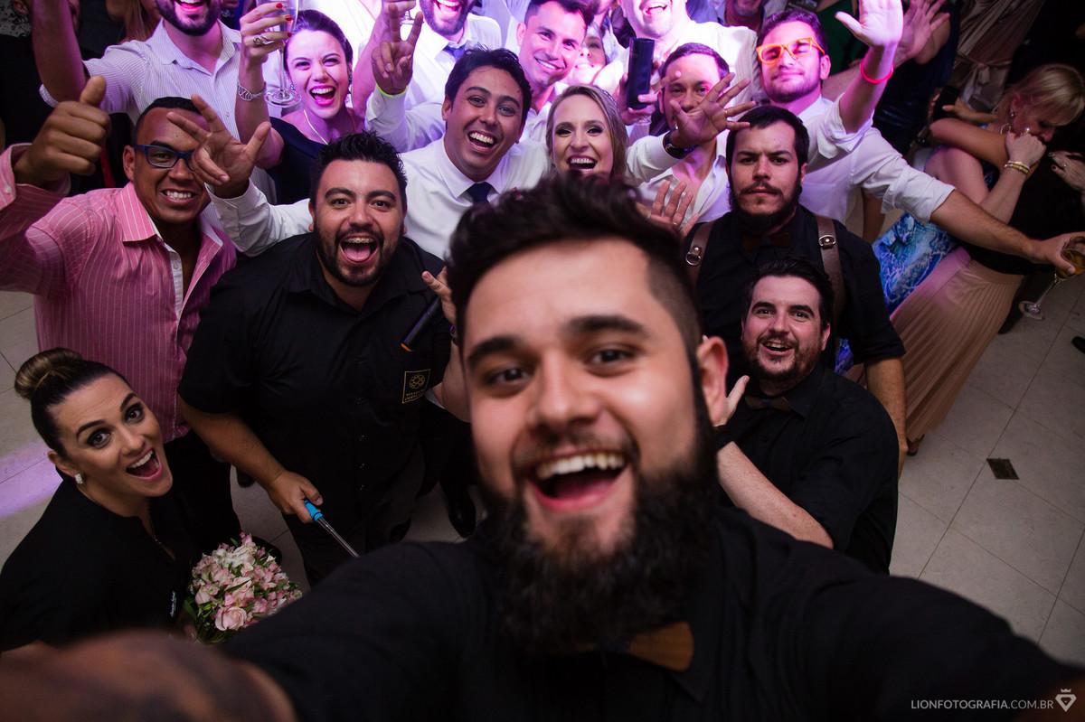 Selfie com os parceiros