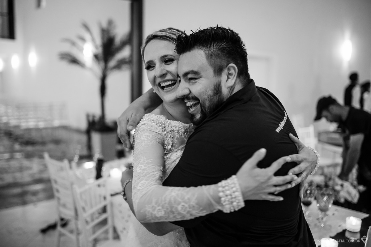 Agradecimento da noiva!