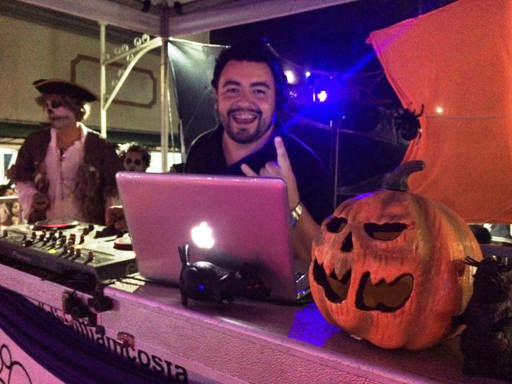 Foto de Halloween no Patio