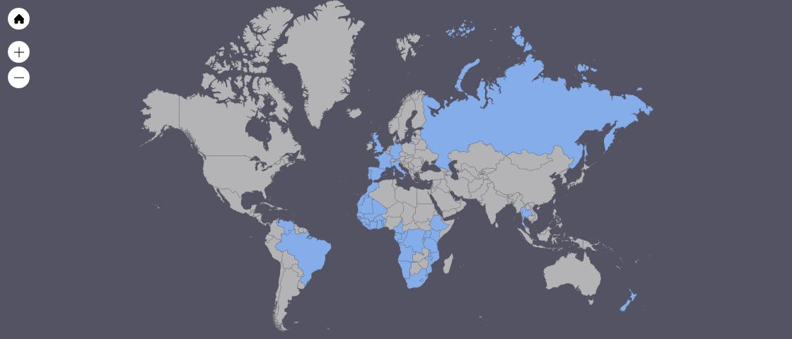 Imagem capa - Lista dos países que já visitei por GabrielSarabando