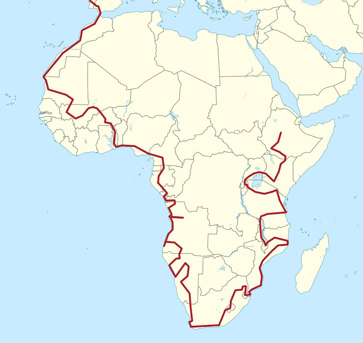 Imagem capa - A volta a África 2018 em vídeio por GabrielSarabando
