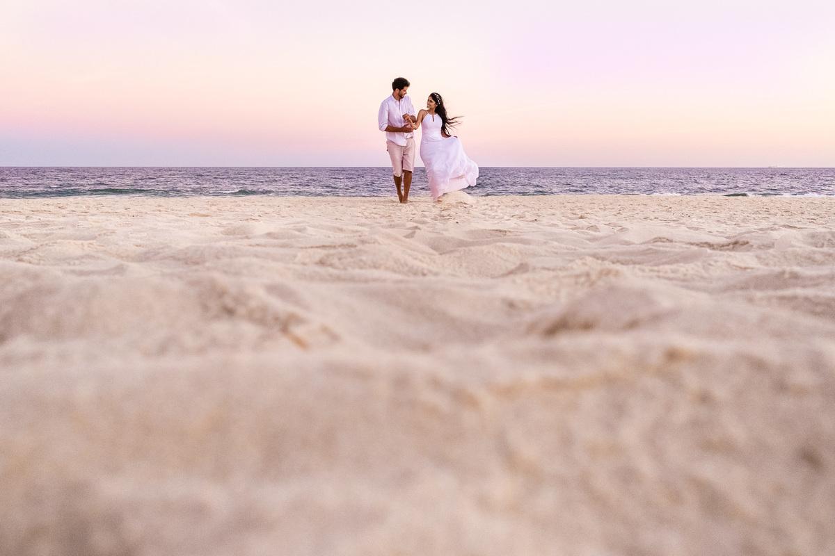 Imagem capa - Ensaio Fotográfico Pré Casamento na Praia - Dez dicas para realizar um ensaio bem sucedido por Jaque Salles