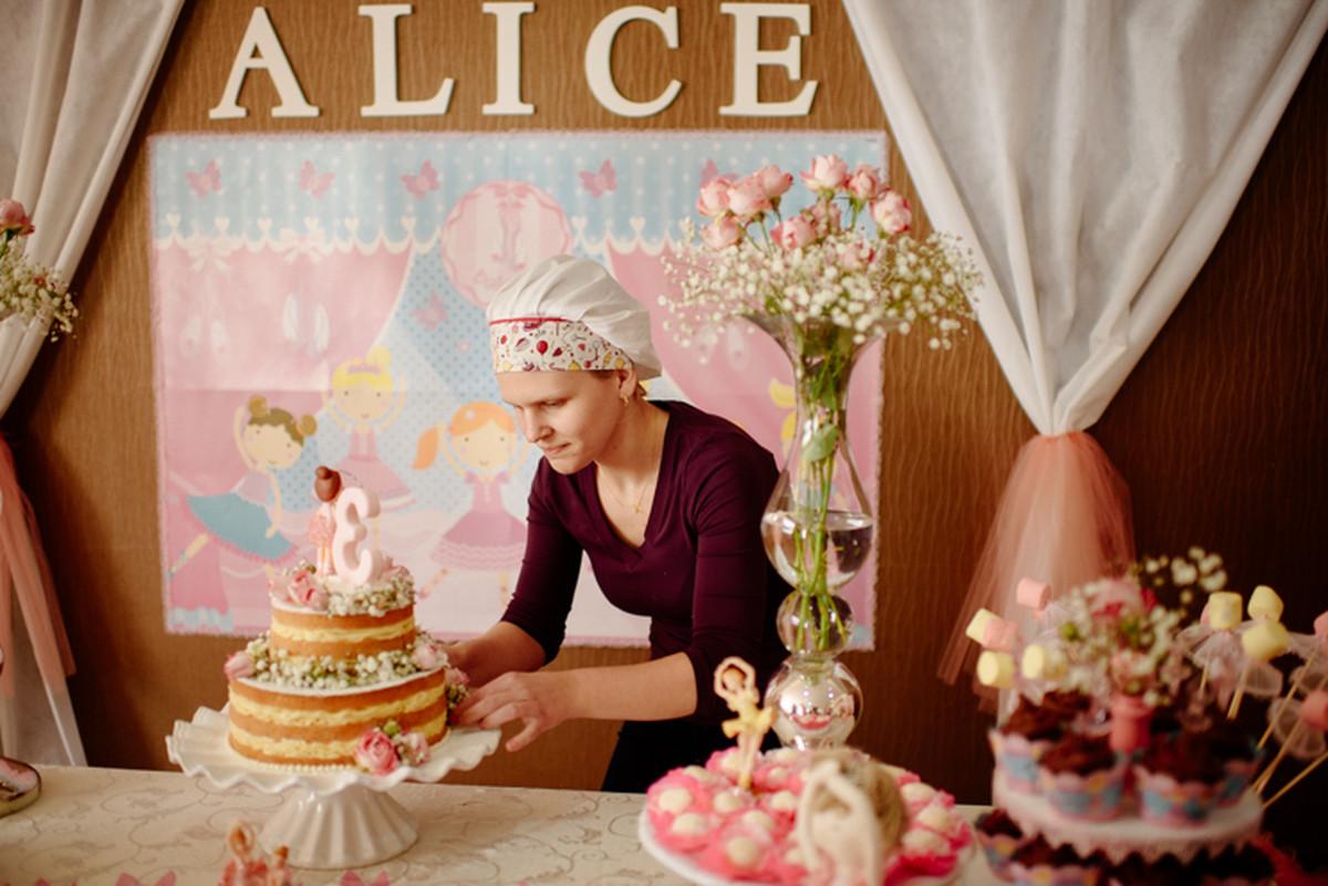 Niver 3 anos da Alice