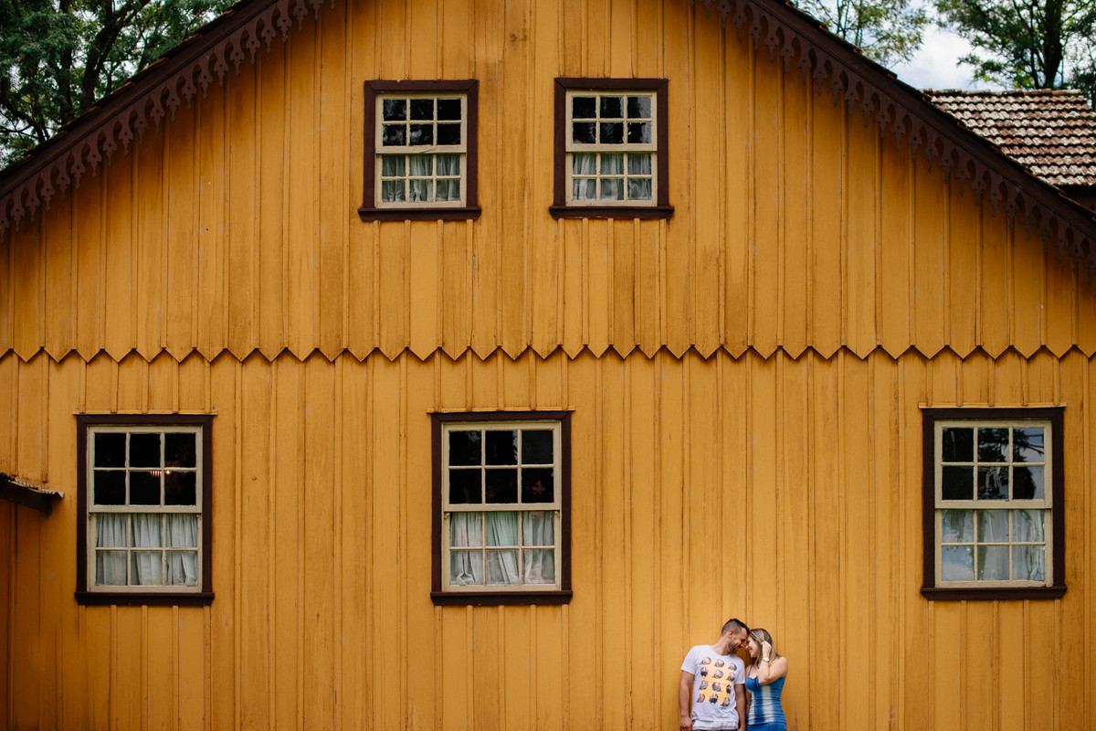 Foto de Thabata e Guilherme