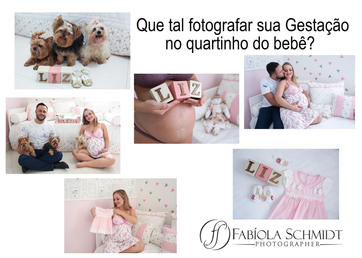 Imagem capa - Que tal a Sessão da Gestante em casa no quartinho do bebê? por Fabiola Celeste Schmidt