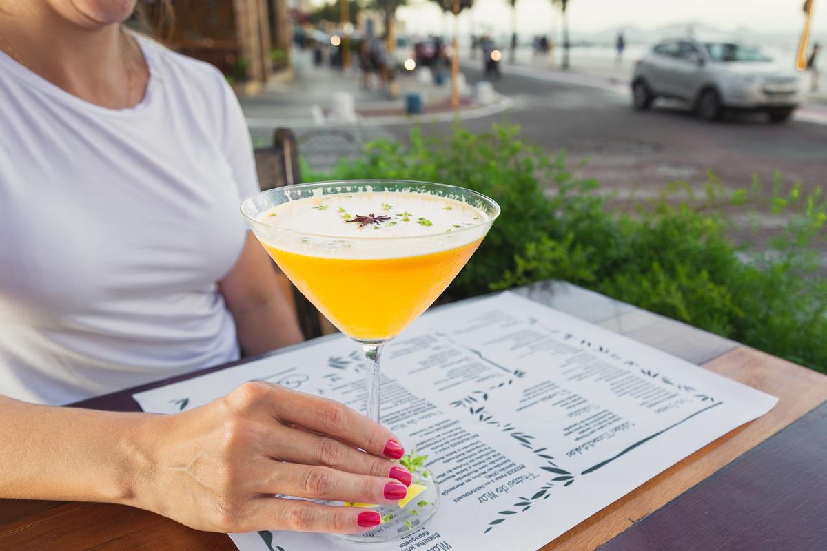 Drink Gin Limão Bar Praia Verão Fotografia Eduardo Zavarize Gelo Gelado mão mulher