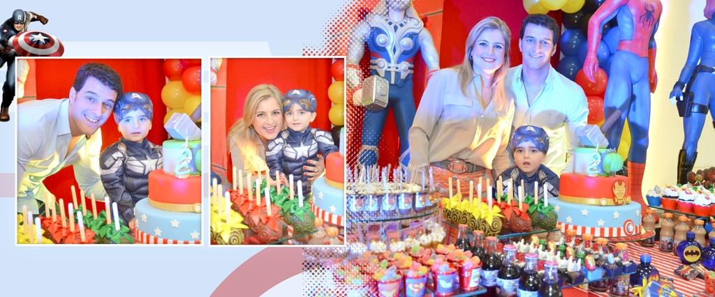 Foto de Aniversário Jorge e Bernardo