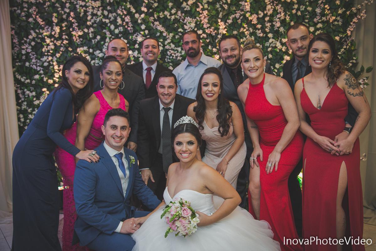 Jean Guilherme, Inova photo e video, o melhor fotografo, casamento, Igreja Matriz de Biguaçu, madrinhas, padrinhos