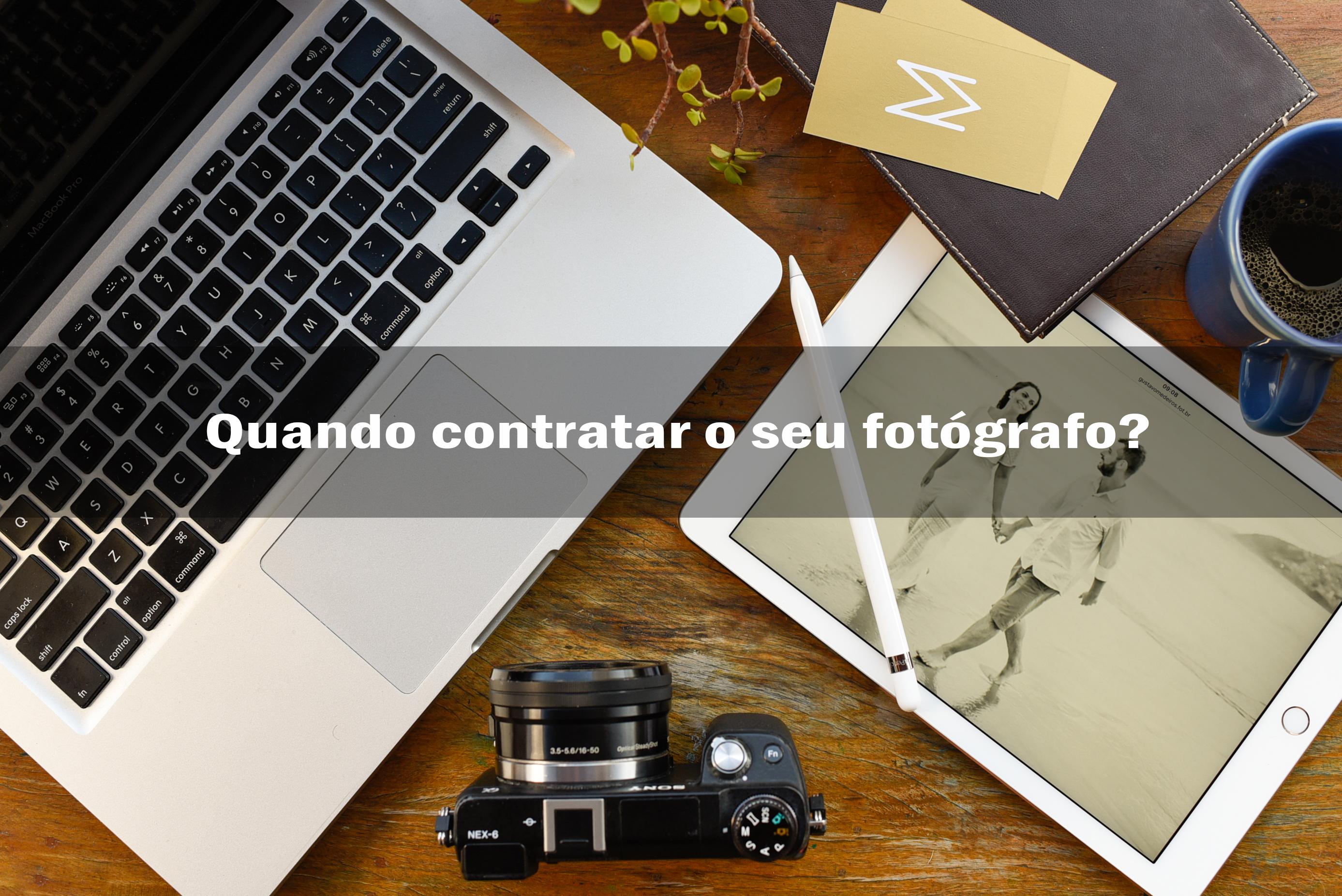 Imagem capa - Quando Contratar o Fotógrafo do seu Casamento? por Gustavo Medeiros
