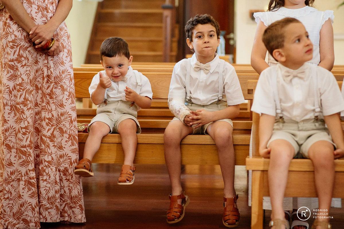 cortejo de niños, cortejo de sobrino, iglesia cristo rey de fisherton