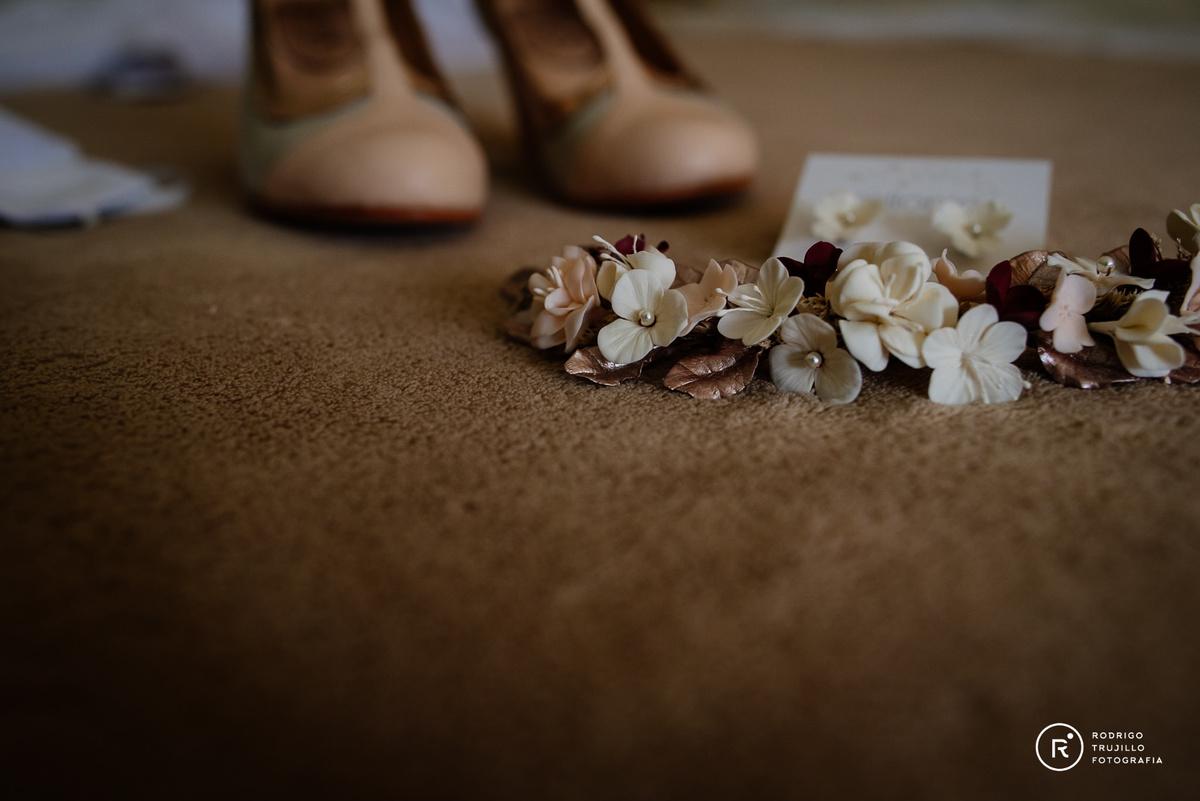 tocado de la novia, milonitocados, flores