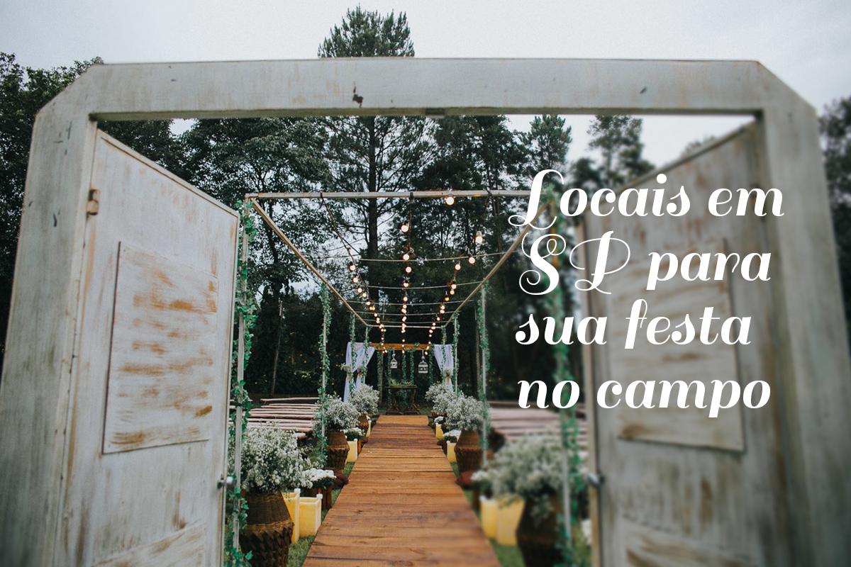 Imagem capa - Locais no interior de SP para sua festa no campo por Damelie Fotografia