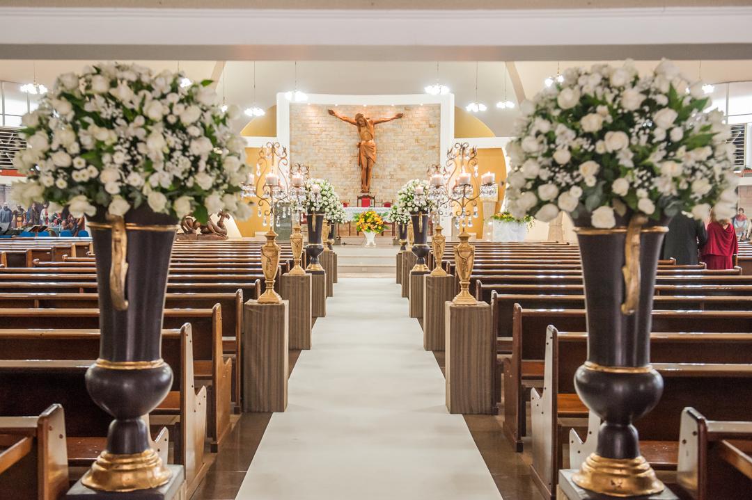 Imagem capa - 5 dicas de decoração para um casamento na Igreja por Katy Tesser