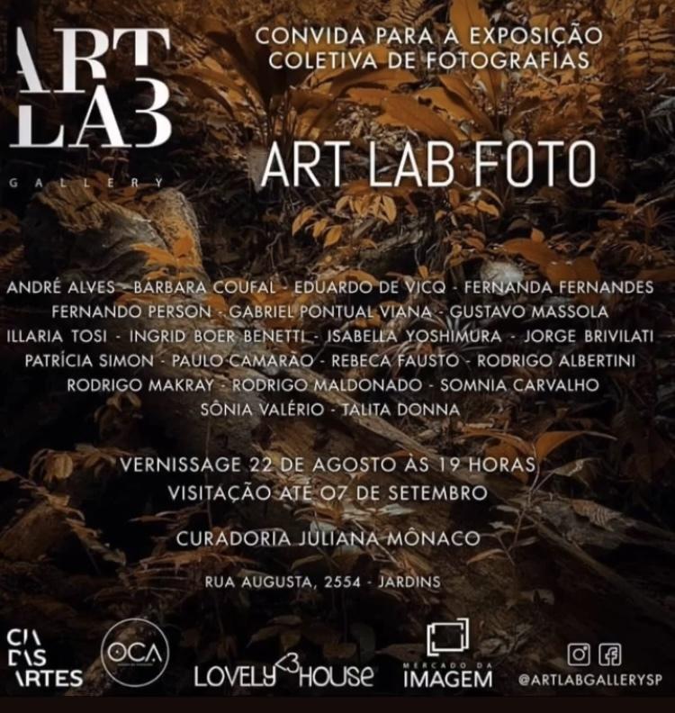 Imagem capa - Exposição na Art Lab Gallery em  São Paulo por Bárbara Coufal
