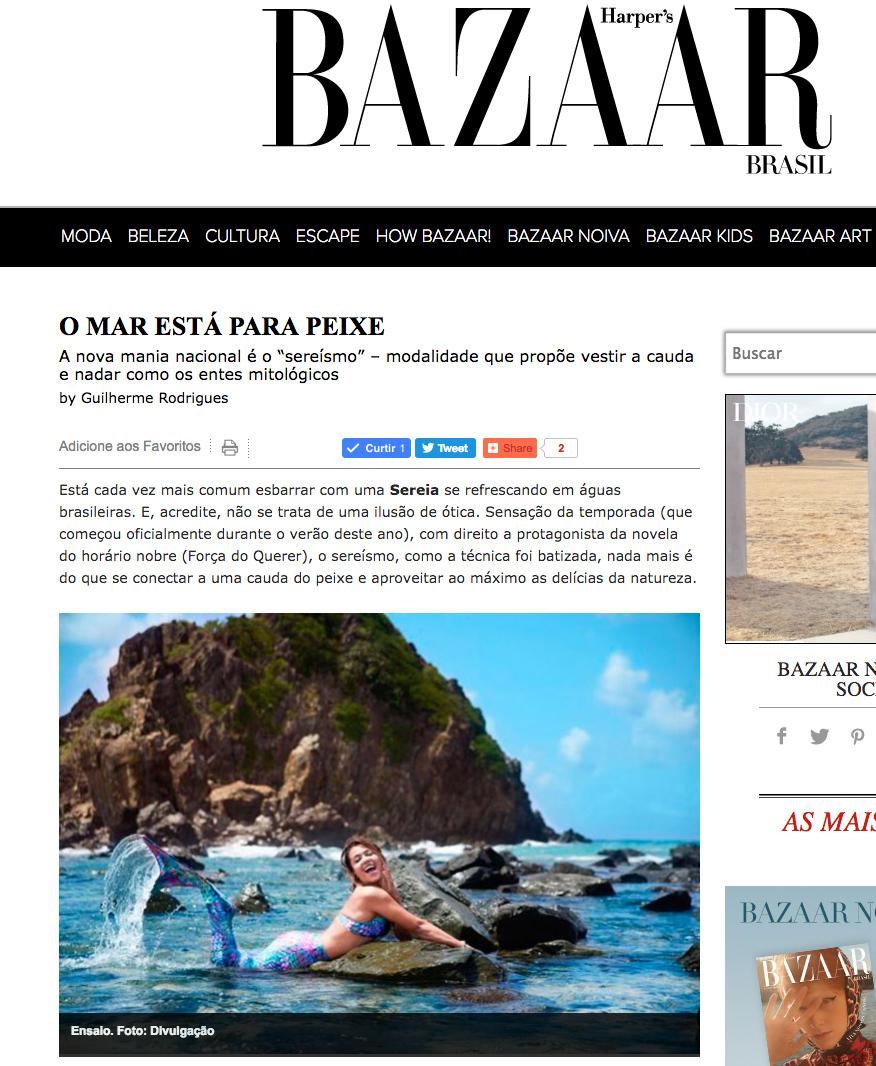 Imagem capa -  Baazar  por Bárbara Coufal