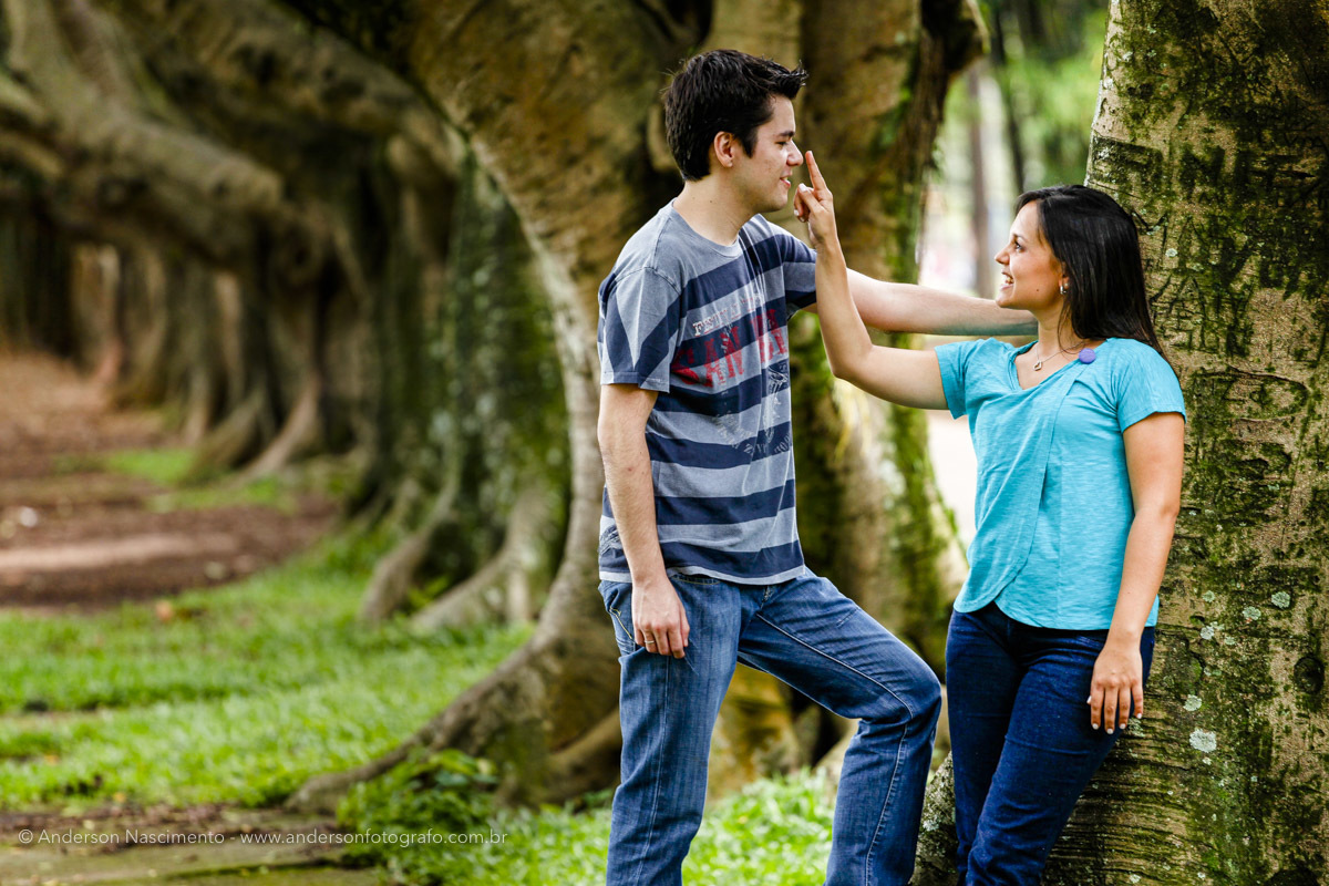 Imagem capa - Ensaio Fotográfico Pre Wedding no Parque Ibirapuera por Anderson Nascimento