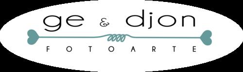 Logotipo de Ge e Djon foto arte