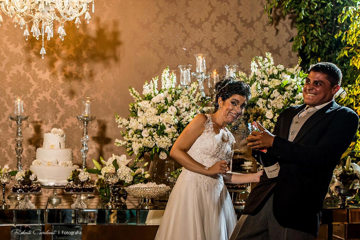 Foto de Viviane e Hugo