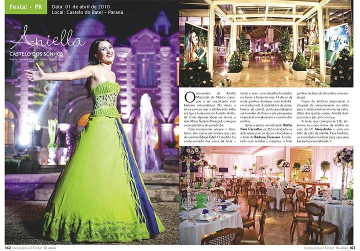Imagem capa - Studio ONE na Revista Inesquecível Festa 15 Anos por Studio ONE