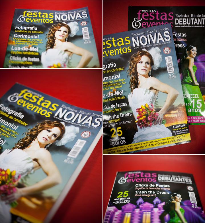 Imagem capa - Revista Festas e Eventos do Rio de Janeiro por Studio ONE