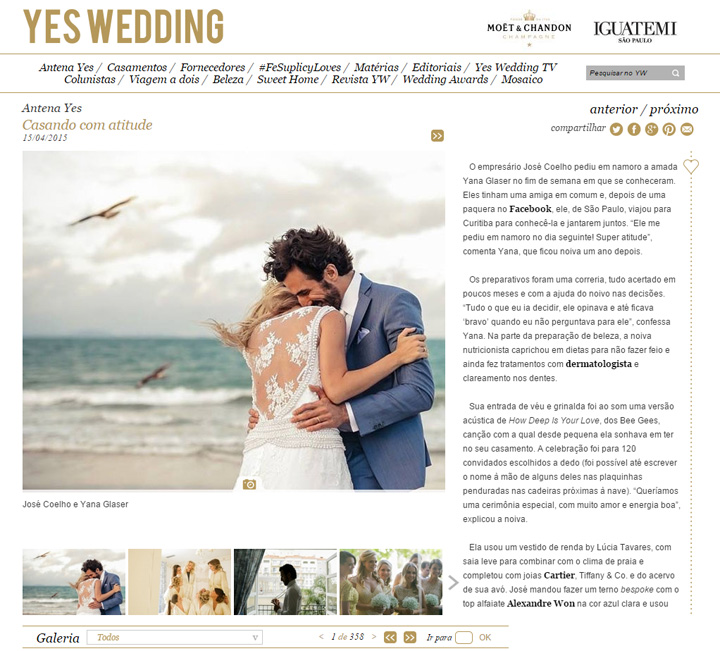 Imagem capa - Yes Wedding por Studio ONE