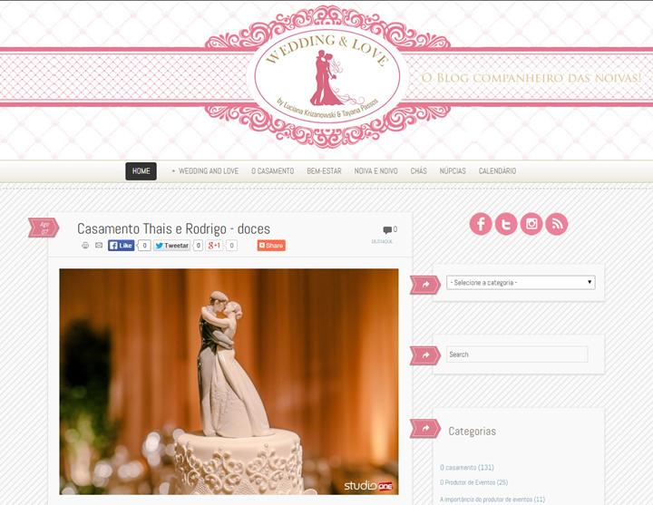 Imagem capa - Blog Wedding & Love – decoração de casamento por Studio ONE