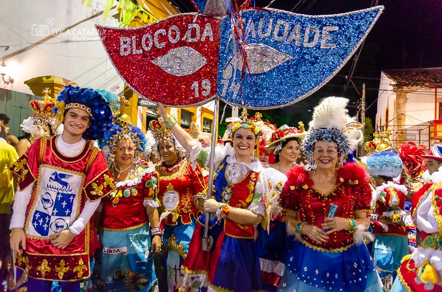 Imagem capa - {Pernambuco} Bloco da Saudade no Pré Carnaval de Olinda por Erica Catarina Pontes