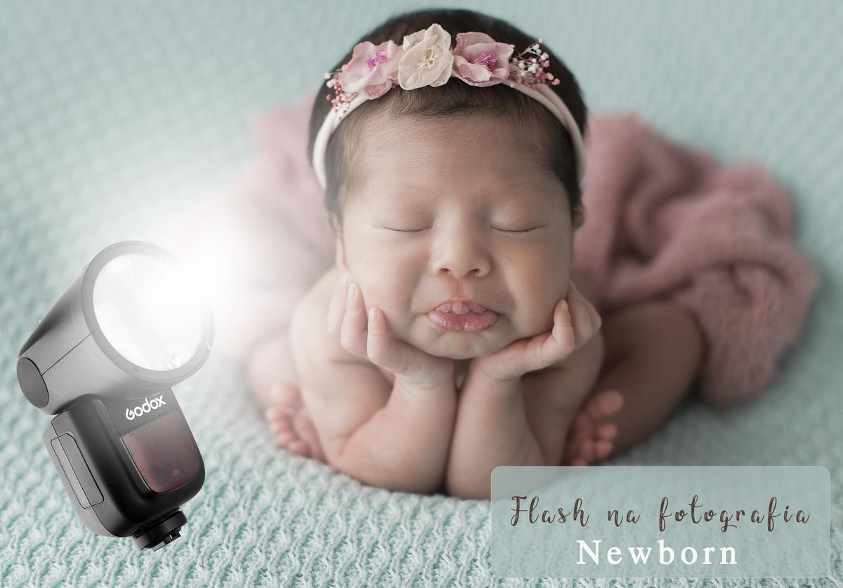Imagem capa - Pode ou não usar flash na fotografia Newborn por Eduardo Fuli