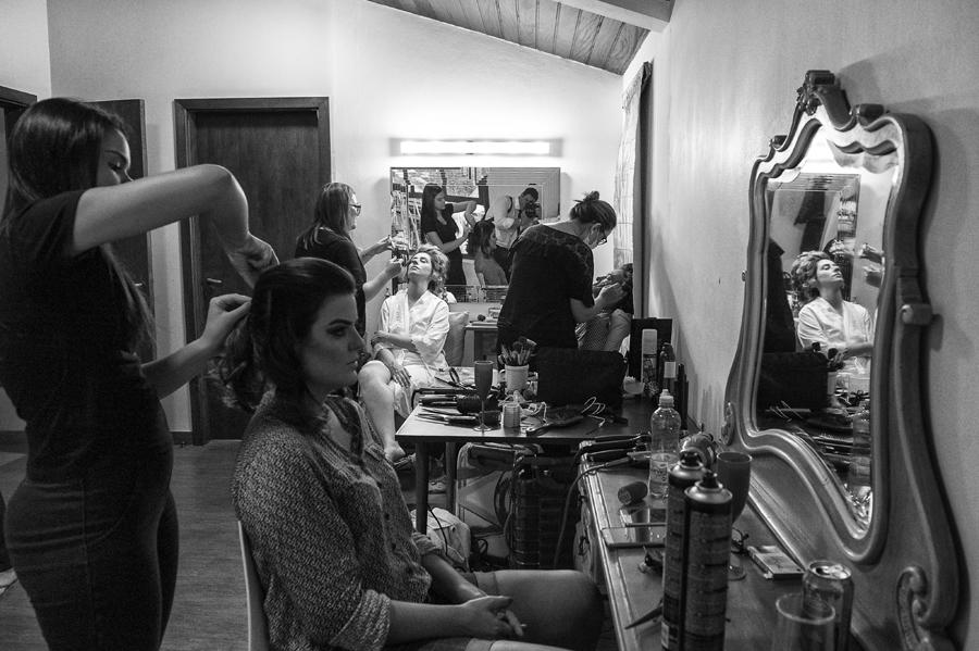Making of da noiva e madrinhas