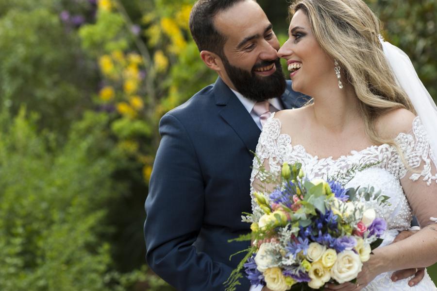 intimidade do casal de noivos