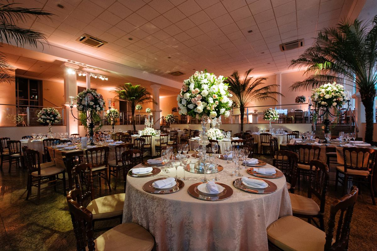 DDecoração da mesa de convidados