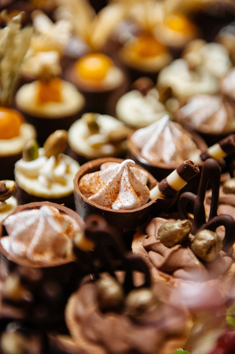Detalhe dos doces