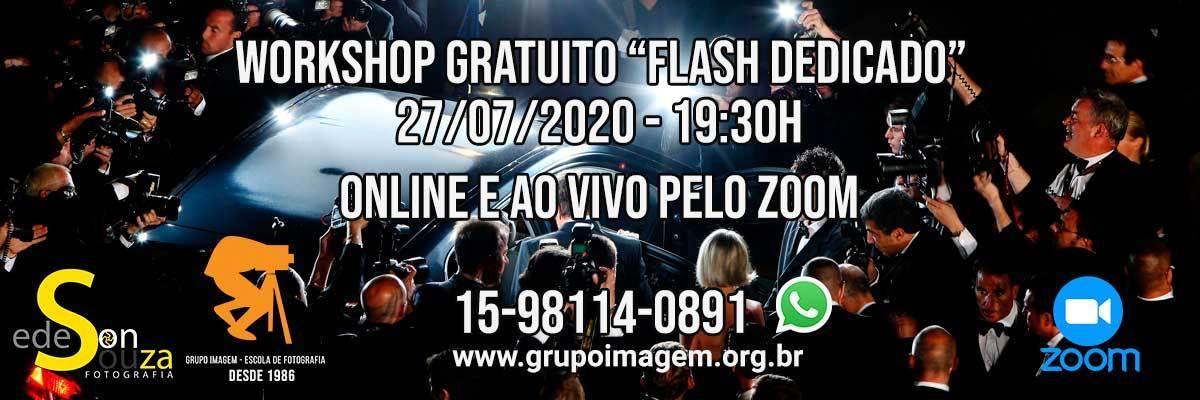 Imagem capa - Workshop Flash Dedicado por Grupo Imagem