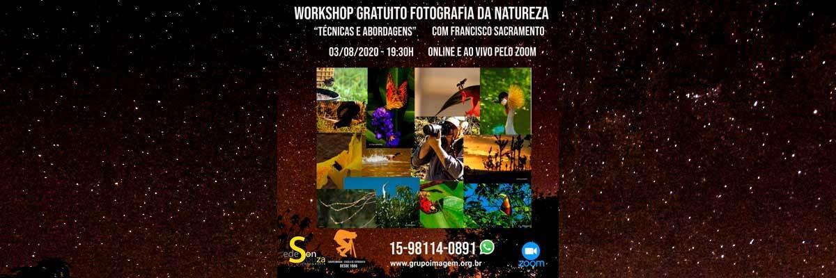 Imagem capa - Workshop Fotografia da Natureza por Grupo Imagem