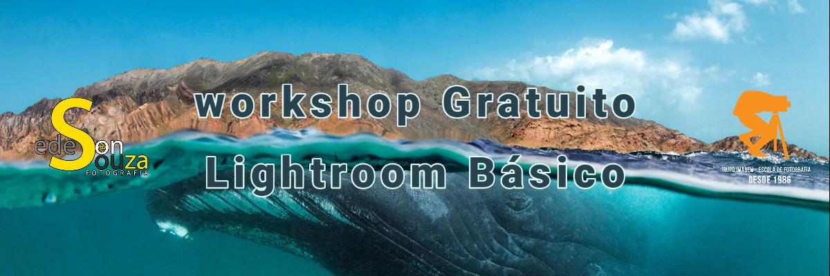 Imagem capa - Workshop Lightroom Básico por Grupo Imagem