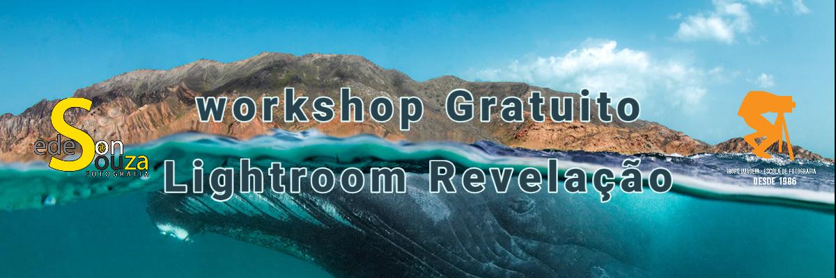 Imagem capa - Workshop Gratuito Lightroom Revelação por Grupo Imagem