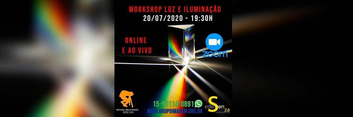 Imagem capa - WORKSHOP LUZ E ILUMINAÇÃO por Grupo Imagem