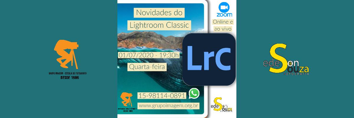 Imagem capa - Novidades Lightroom 2020 por Grupo Imagem