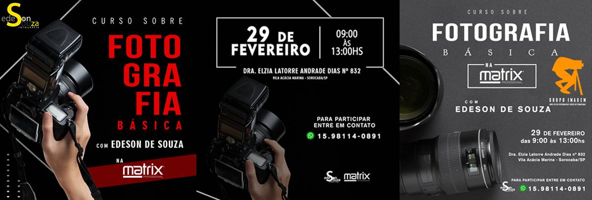 Imagem capa - Curso de Fotografia Básica na Matrix por Grupo Imagem